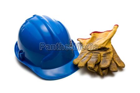 cappello fabbrica difficile casco guanti sicurezza