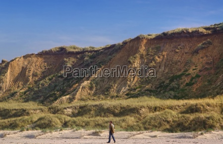hike on sylt red cliff