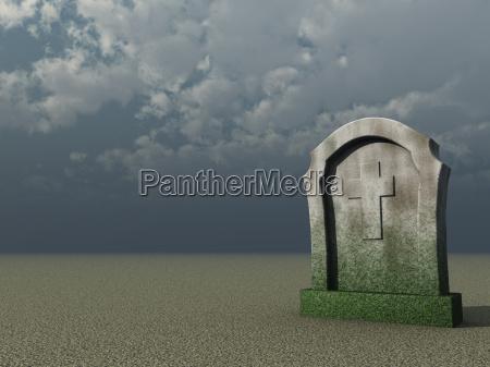 paradiso croce lapide tomba sepoltura cristiano