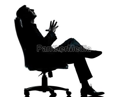 sedia poltrona profilo persone popolare uomo