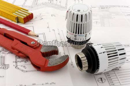 risparmiare salva riscaldamento ristrutturazione giratubi termostato