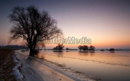 inverno freddo quiete silenzio tranquillita brandeburgo