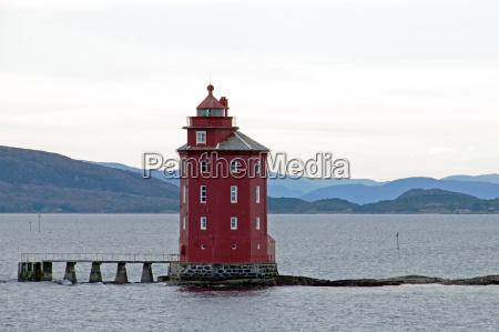 torre norvegia acqua salata mare oceano