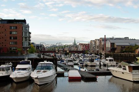 blu porto norvegia porti yacht motoscafo