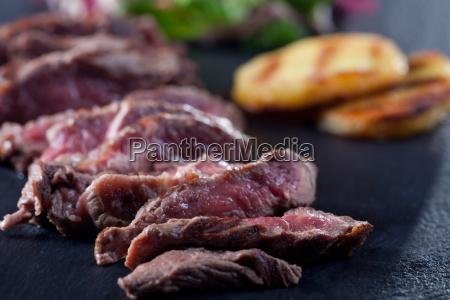 disco bistecca meta bistecca di manzo