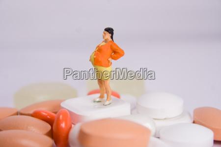 vitamine gravidanza medicina pastiglia pillola incinta