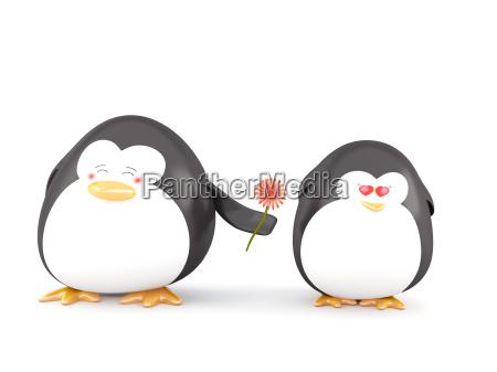 pinguino nellamore