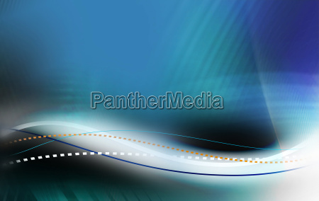 oscillation abstract background
