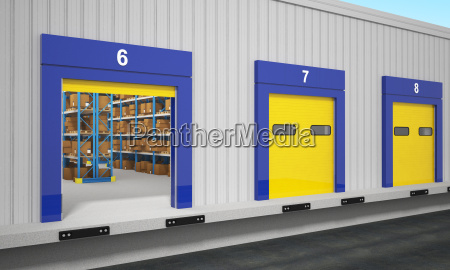 warehouse dock station