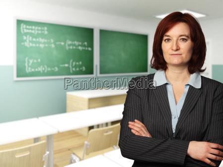 ritratto di insegnante