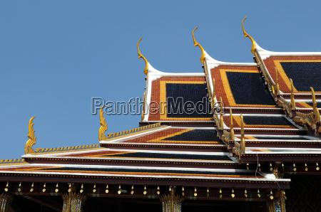 tempio bangkok sul tetto