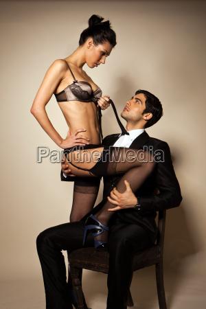 temptress and businessman