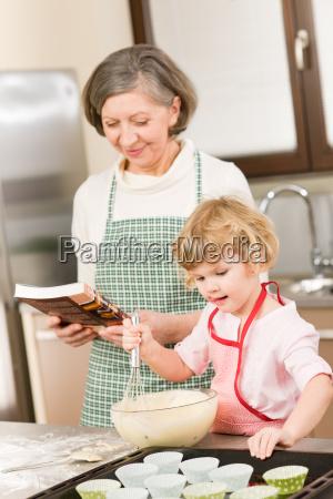 nonna cucina cucinare bruciare nipote famiglia