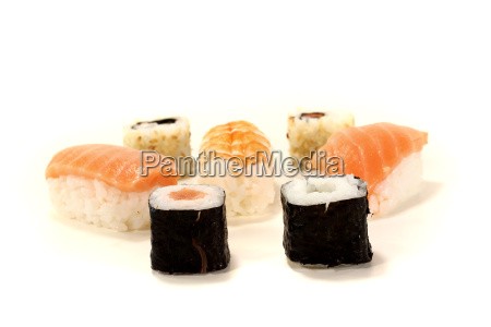 fresh japanese sushi