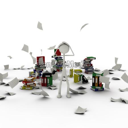 caos astratto fumetto modello confusione valutare