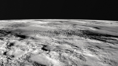 primo piano suolo terra terreno luna