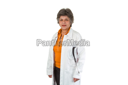 anziano dottore medico
