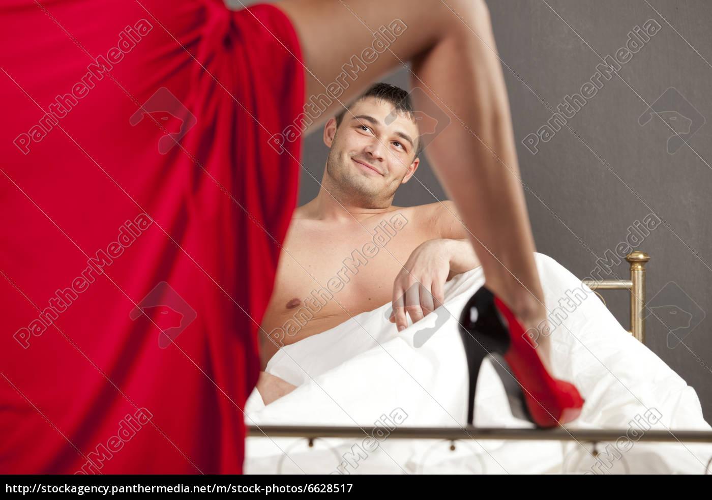 momento, seducente, per, l'uomo - 6628517