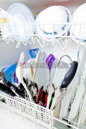 pulito piatti lavori pulire