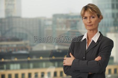 la donna di affari