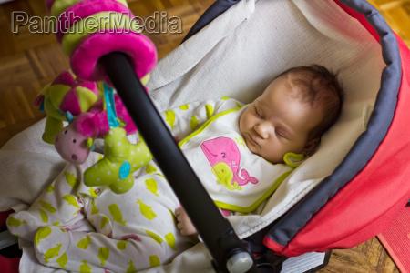 faccia bambino neonato lattante sonno addormentato