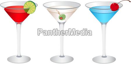bicchiere bere alcool festa martini bevanda