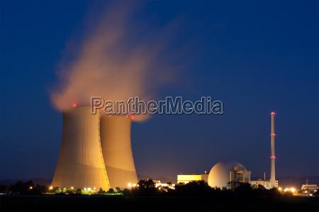 grohnde centrale nucleare in bassa sassonia