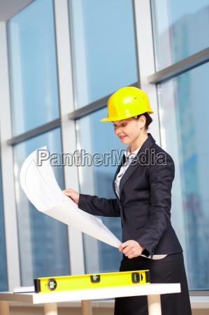 confident architect