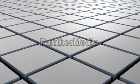 struttura 3d piazza grey