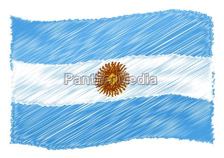 bandiera dellargentina