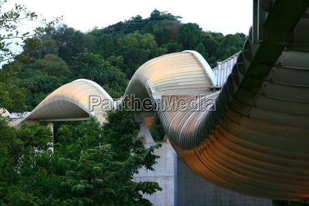 henderson wave bridge ponte pedonale moderno
