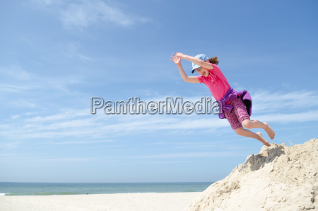 toddler jumps
