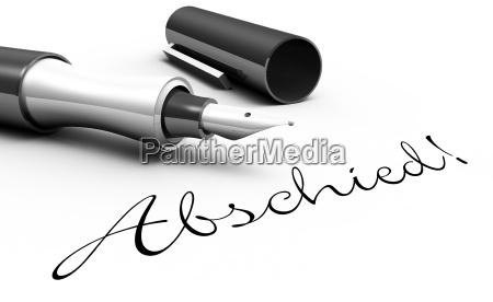 addio concetto di penna
