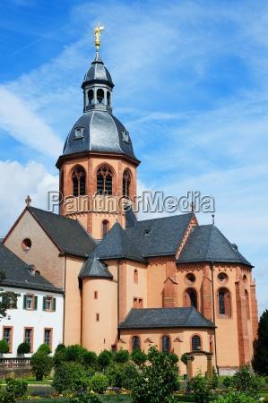 chiesa barocco germania abbazia basilica monastero