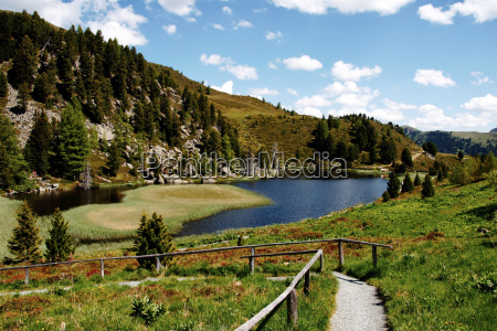 windebensee austria carinzia hohe tauern area