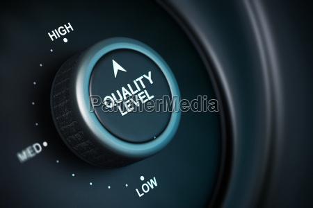 alto livello di gestione della qualita