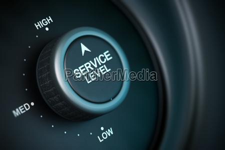 alto livello di servizio