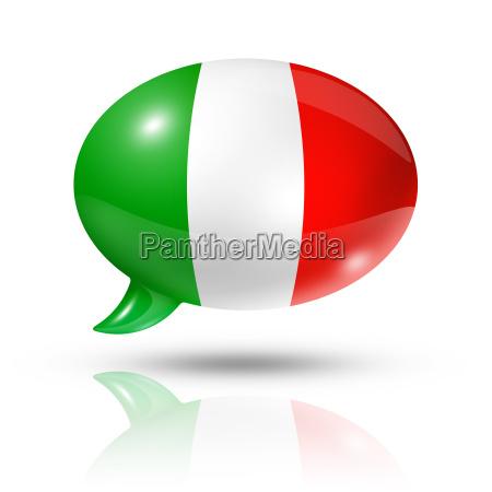 europa bandiera italiano discorso italia