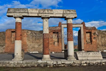 pompei italia