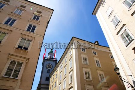historic architecture in salzburg