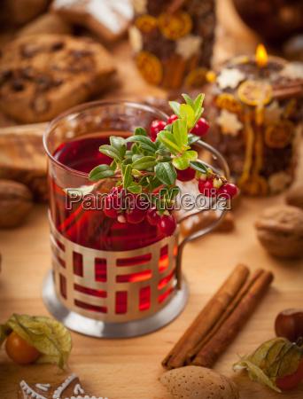 punch di vino caldo