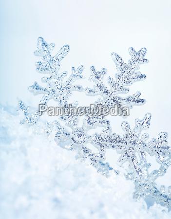 fiocco di neve sfondo