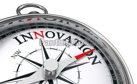 concetto di innovazione bussola