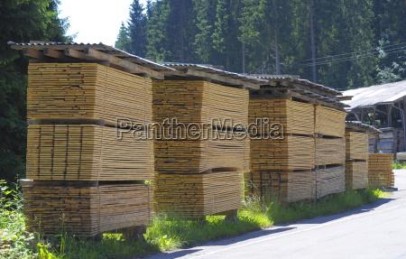 legno foresta nera materie prime duraturo