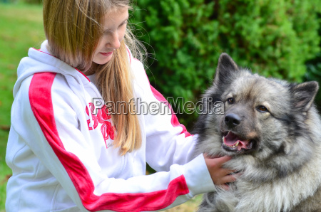cane bambino freunschaft ragazza