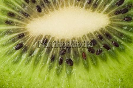 kiwi fruit close up background