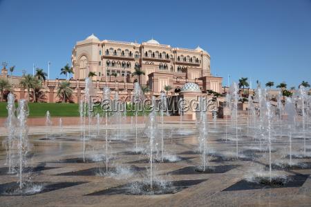 fontana albergo magnificenza lusso agiatezza palazzo