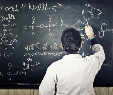 insegnante in azione