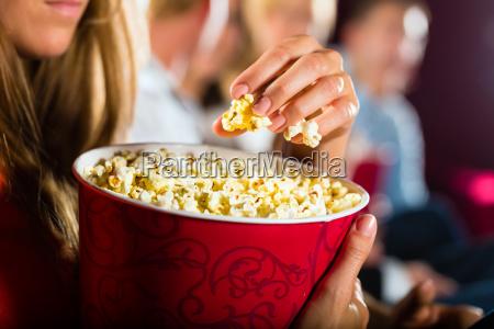 popcorn al cinema