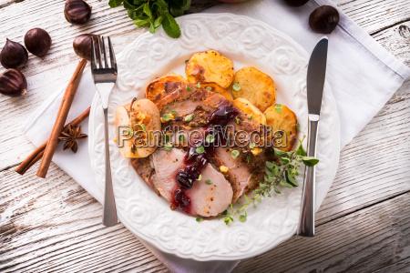 cibo marrone turchia pollame natale arrosto